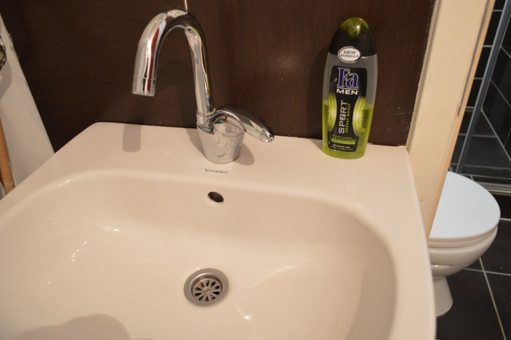 Apartman 3, lavabo
