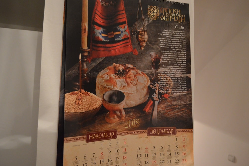 Apartman 3, kalendar