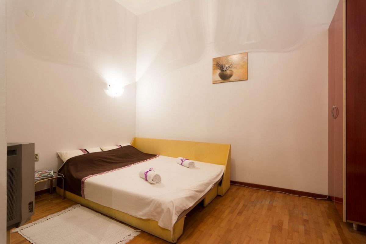 Krevet za dve osobe u apartmanu