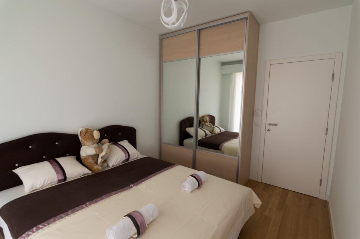 Apartman kod Bellvila i Simensa, spavaca soba