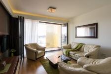 Pogled ka terasi airpotr apartmana na Novom Beogradu