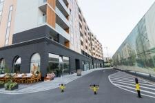 Zgrada airport apartmana na Novom Beogradu